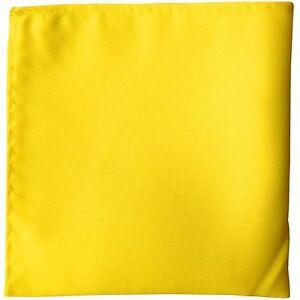 "Colors Solid Pocket Square Hankie Handkerchief Wedding Formal Prom 10"" x 10"""