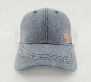 Tommy Bahama Tip Your Cap Margarita Trucker Baseball Hat Marlin Logo Mens NEW