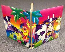 Vintage 1989 NOS Lisa Frank Notebook Binder NEW Pop Art MINT Condition Beautiful