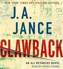 CLAWBACK unabridged audio book on CD by J.A. JANCE - Brand New - 8 CDs 10 Hours!