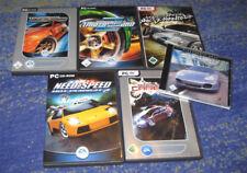 Need for Speed Underground 1 + 2 + Carbon Porsche + + wanted y más PC
