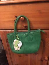 Radley Mini Green Leather Bag, Gorgeous!