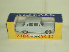 Vintage scarce toy car diecast metal MOSKVITCH 408 USSR mint in box 1/43 71 A1 !