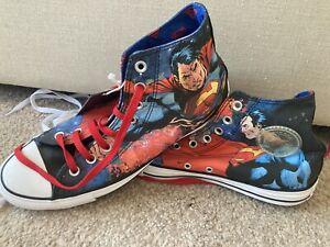 Converse Superman DC Comics Size 9