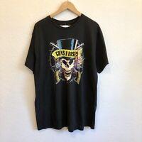 Men's Bravado Guns n Roses  T Shirt Size XL Black NEW