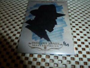 Indiana Jones Masterpieces 2008 Topps Sketch Card by Karen Krajenbrink 1/1
