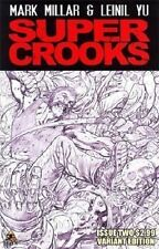 SUPER CROOKS #2 1:10 sketch variant 1st print ICON COMIC MARK MILLAR kick ass NM