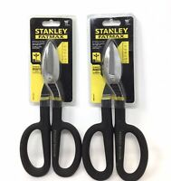 "2 Pack Stanley FMHT73571 FatMax 10"" All Purpose Tin Snips (T)"