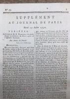 Amis des Noirs Esclavage 1790 Chirurgien Dentiste Dubois de Chémant Dentier