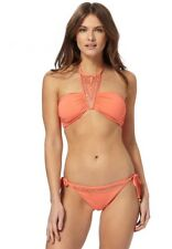 Butterfly by Matthew Williamson - Coral Embellished Bikini - Size 14 - BNWT