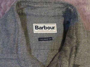 Mens Barbour Grey Shirt Size Medium