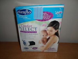 Evenflo Comfort Select Performance Automatic Cycling Breast Pump - New Fast Ship