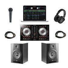Pioneer DJ System DDJ-SB2/Yorkville YSM8 Complete Professional DJ Studio Monitor