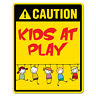 Caution Kids At Play Sticker Decal Safety Sign Car Vinyl #7417EN