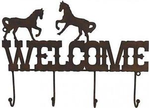 HORSES WELCOME HOOKS