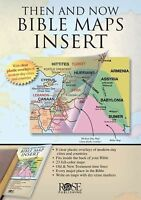 Then and Now Bible Maps Insert (Paperback or Softback)