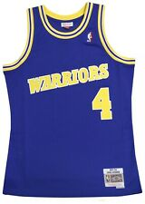 Chris Webber Golden State Warriors NBA Throwback Jersey Size Large