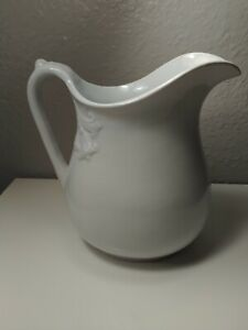 1890 Mellor & Co. Ironstone Pitcher