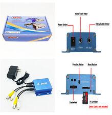 Señal digital DVR Video Grabadora Cámara CCD CMOS de controlador de CD audio 1-way Para Auto