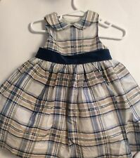 EUC JANIE AND JACK Lavish And Luxe Silk Blend Dress (12-18 Months)