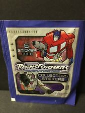 "Topps ""2003"" TransFormers G1, Album Stickers. Two Pack!"