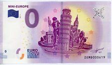 Billet Touristique 0 Euro --- Mini-Europe - 2017-1