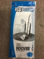 3Pc Hoover Type C Disposable Vacuum Cleaner Bags Made In The Usa Vac 66228