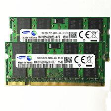 New Samsung 4gb 2x2gb pc6400 DDR2-800mhz 200pin pc2-6400  laptop memory