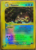 Pokemon Card Skyridge - Omastar Reverse Holo 23/144