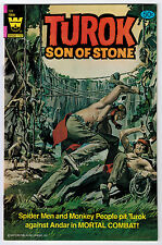 TUROK #128 9.0 HIGHER GRADE 3RD TO LAST ISSUE OW/W PAGES BRONZE AGE