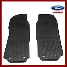 Genuine Ford TRANSIT Mk7 Front Contour Rubber Floor Mat Set 1737031