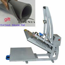 New Listingdrawer Design Semi Automatic Magnet Semi Auto Heat Press Machine 15x15