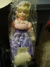 """Avon Storytime Doll Collection """"Mary Had A Little Lamb"""""""