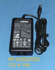 HIPRO HP-A0502R3D AC Adapter Power Supply 12V 4.16A for HP t5540 VC4820t VC4825t