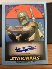 2017 TOPPS 1978 STAR WARS SUGAR FREE DICKEY BEERS BOBA FETT AUTOGRAPH AUTO 25/25