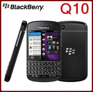 Blackberry Q10(Unlocked)SQN100-3 Mobile Phone 4G 8.0MP Dual-core 2G/16G WiFi 8MP