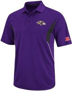 Baltimore Ravens Team Apparel Field Classic Dri Fit Polo Shirt Big & Tall Sizes