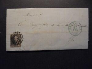 (Okt 146) Belgium cover / letter 1850
