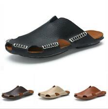 Summer Mens Beach Slingbacks Slippers Shoes Closed Toe Walking Sports Flats 44 D