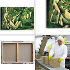 Cezanne bagnanti 5 design quadro stampa tela dipinto con telaio arredo casa