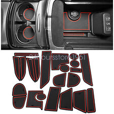 Fit For Dodge Charger 2011-2020 Cup Holder Liner Insert Accessories Red Trim USA