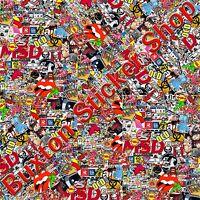 Vauxhall opel Stickers Bomb sheet Euro Vinyl Decal vw Astra corsa honda Dub wrap