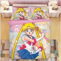 DATE A LIVE Anime 3tlg.4tlg Bettwäsche Bettwäschegarnitur Deckenbezug Bedding