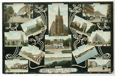 Greetings from Putney, 1911 postcard