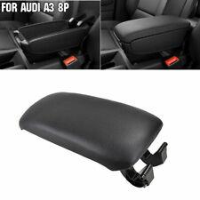 Couverture Cuir Noir pour Accoudoir Central pour Audi A3 S3 8P 03-12