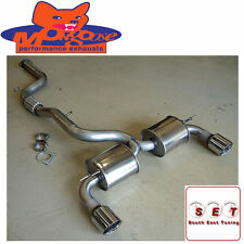 """Mongoose Ford Focus ST MK2 Section 59 Cat Back Exhaust 3"""""""