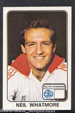 (ZZ) - Panini 1979 Football Sticker No 73 - Bolton Wanderers - Neil Whatmore