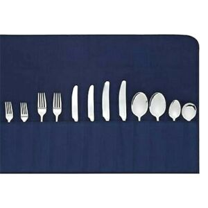 ANTI-TARNISH BLUE CUTLERY ROLL (HOLDS 12 PIECES)