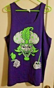 RARE ICP Purple/Green Great Milenko Tank top tanktop insane clown posse shirt L