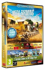 Mega Farming Collection 7 Pack (PC-DVD) BRAND NEW SEALED AGRICULTURAL SIM 12,13